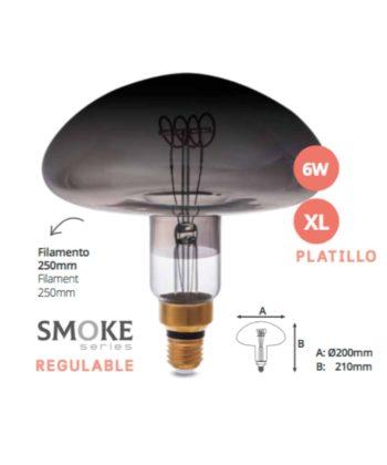 lâmpada cogumelo XXL